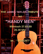 "The James-Taylor-Tribute mit ""Handy Men"""